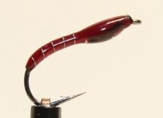 Nymphe Nr. 103 - Rot-Silber-Braun