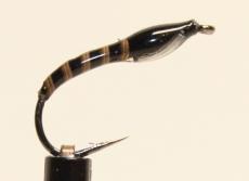 Nymphe Nr. 109 - Schwarz-Pfau-Weiß