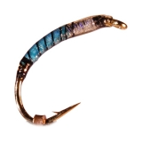 Nymphe Nr. 36 - Hellblau Pearl